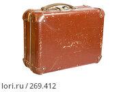Купить «Старый чемодан», фото № 269412, снято 2 мая 2008 г. (c) Бутинова Елена / Фотобанк Лори