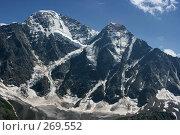 Купить «Кавказские горы. Донгуз-Орун и Накра-Тау», эксклюзивное фото № 269552, снято 26 июля 2007 г. (c) Оксана Гильман / Фотобанк Лори
