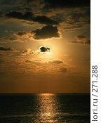 Купить «Морской рассвет», фото № 271288, снято 23 сентября 2018 г. (c) Вероника Галкина / Фотобанк Лори