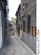 Улочка города Толедо (древней столицы Испании) (2008 год). Стоковое фото, фотограф E. O. / Фотобанк Лори