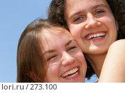 Купить «Подруги», фото № 273100, снято 15 октября 2018 г. (c) Роман Сигаев / Фотобанк Лори