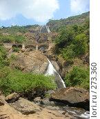 Купить «Водопад. штат Гоа. Индия», фото № 273360, снято 14 февраля 2008 г. (c) Елена Велесова / Фотобанк Лори