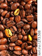 Купить «Золотые кофейные зерна», фото № 273508, снято 29 апреля 2006 г. (c) Роман Сигаев / Фотобанк Лори