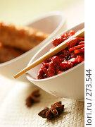 Купить «Китайское блюдо», фото № 273544, снято 25 апреля 2006 г. (c) Роман Сигаев / Фотобанк Лори