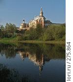 Свечная башня Борисоглебского монастыря. Торжок (2008 год). Стоковое фото, фотограф Игорь Паршин / Фотобанк Лори