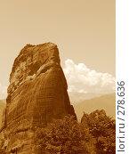 Купить «Горы Метеора. Греция», фото № 278636, снято 1 июля 2007 г. (c) Юлия Селезнева / Фотобанк Лори