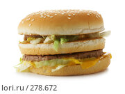 Купить «Гамбургер», фото № 278672, снято 23 апреля 2006 г. (c) Роман Сигаев / Фотобанк Лори
