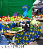 Купить «Рынок выходного дня, улица Сахалинская, район Гольяново, Москва», эксклюзивное фото № 278684, снято 1 мая 2008 г. (c) lana1501 / Фотобанк Лори