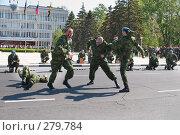 Купить «Во время военного парада в Новороссийске», фото № 279784, снято 9 мая 2008 г. (c) Федор Королевский / Фотобанк Лори