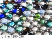 Купить «Фон из декоративных стеклянных камней», фото № 280056, снято 11 мая 2008 г. (c) Круглов Олег / Фотобанк Лори
