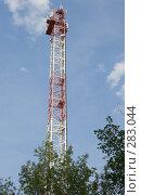 Купить «Радиотрансляционная вышка», фото № 283044, снято 12 мая 2008 г. (c) Эдуард Межерицкий / Фотобанк Лори