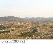 Панорама города Судак (2007 год). Стоковое фото, фотограф Светлана Соколова / Фотобанк Лори