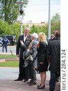 Купить «Рассказ ветерана», эксклюзивное фото № 284124, снято 9 мая 2008 г. (c) Игорь Веснинов / Фотобанк Лори