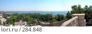 Купить «Панорама с горы Митридат», фото № 284848, снято 28 мая 2018 г. (c) Михаил Комягин / Фотобанк Лори