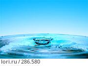 Купить «Упавшая капля воды», фото № 286580, снято 5 апреля 2008 г. (c) Константин Тавров / Фотобанк Лори