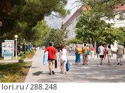 Купить «Отдыхающие, г. Геленджик», фото № 288248, снято 4 сентября 2007 г. (c) Андрей Андреев / Фотобанк Лори