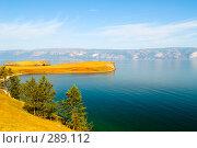 Купить «Озеро Байкал», фото № 289112, снято 3 сентября 2007 г. (c) Andrey M / Фотобанк Лори