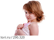 Купить «Маленькая модель», фото № 290320, снято 13 апреля 2007 г. (c) Гладских Татьяна / Фотобанк Лори