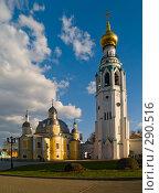 Купить «Воскресенский собор и колокольня. Вологда», фото № 290516, снято 9 мая 2008 г. (c) Liseykina / Фотобанк Лори