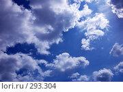 Купить «Синее небо с облаками», фото № 293304, снято 17 мая 2008 г. (c) Александр Катайцев / Фотобанк Лори