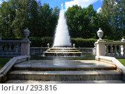 """Купить «Петергоф, фонтан """"Пирамида""""», эксклюзивное фото № 293816, снято 23 июля 2007 г. (c) Журавлев Андрей / Фотобанк Лори"""