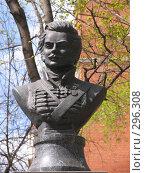 Купить «Давыдов Д.В. герой 1812г.», фото № 296308, снято 27 апреля 2008 г. (c) Владислав Семенов / Фотобанк Лори