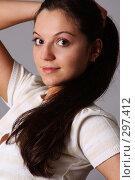 Купить «Портрет молодой девушки», фото № 297412, снято 22 мая 2008 г. (c) Андрей Аркуша / Фотобанк Лори