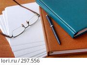 Рабочий стол делового человека. Стоковое фото, фотограф Светлана Симонова / Фотобанк Лори