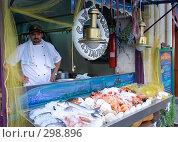 Купить «Рыбный ресторан», фото № 298896, снято 3 мая 2008 г. (c) Галина Лукьяненко / Фотобанк Лори