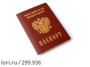 Купить «Паспорт гражданина Российской Федерации», фото № 299936, снято 22 мая 2008 г. (c) Светлана Симонова / Фотобанк Лори