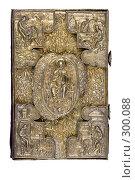 Купить «Обложка. Старинная печатная Библия», фото № 300088, снято 17 апреля 2008 г. (c) Harry / Фотобанк Лори