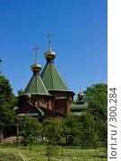 Купить «Церковь в сквере», фото № 300284, снято 20 мая 2008 г. (c) Александр Спирков / Фотобанк Лори