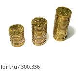 Купить «Столбцы монет», фото № 300336, снято 25 мая 2008 г. (c) Павел Филатов / Фотобанк Лори