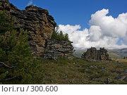 Скальные останцы. Стоковое фото, фотограф Андрей Пашкевич / Фотобанк Лори