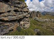 Купить «Скальные останцы», фото № 300620, снято 24 апреля 2018 г. (c) Андрей Пашкевич / Фотобанк Лори
