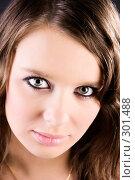 Портрет молодой девушки. Стоковое фото, фотограф chaoss / Фотобанк Лори