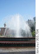 Купить «Городской фонтан», фото № 303704, снято 30 мая 2008 г. (c) Цветков Виталий / Фотобанк Лори