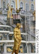 Купить «Петродворец, нижний парк», фото № 304172, снято 23 июля 2005 г. (c) Александр Секретарев / Фотобанк Лори