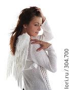 Купить «Девушка в образе ангела», фото № 304700, снято 31 мая 2008 г. (c) Наталья Белотелова / Фотобанк Лори
