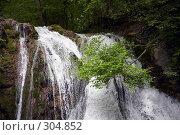 Купить «Водопад Джур-Джур (Крым, село Генеральское)», фото № 304852, снято 23 мая 2008 г. (c) Олег Титов / Фотобанк Лори