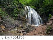 Купить «Водопад Джур-Джур (Крым, село Генеральское)», фото № 304856, снято 23 мая 2008 г. (c) Олег Титов / Фотобанк Лори