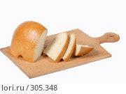 Купить «Булка белого хлеба», фото № 305348, снято 7 ноября 2004 г. (c) Кравецкий Геннадий / Фотобанк Лори