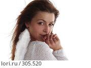 Купить «Девушка в образе ангела в мольбе», фото № 305520, снято 31 мая 2008 г. (c) Наталья Белотелова / Фотобанк Лори