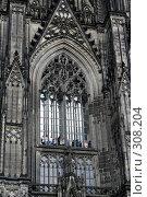 Купить «Детальный вид Кельнского собора. Германия», фото № 308204, снято 21 января 2019 г. (c) Николай Винокуров / Фотобанк Лори