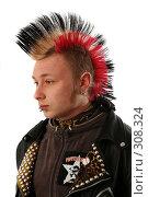Купить «Панк», фото № 308324, снято 28 января 2008 г. (c) Андрей Аркуша / Фотобанк Лори