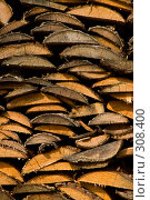 Купить «Русская поленница. Фоновое изображение.», фото № 308400, снято 18 апреля 2008 г. (c) Harry / Фотобанк Лори