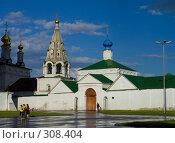 Купить «Рязанский Кремль. Спасский монастырь», фото № 308404, снято 30 мая 2008 г. (c) УНА / Фотобанк Лори