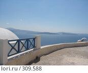 Купить «Греция. о. Санторини. г. Иа», фото № 309588, снято 29 июня 2006 г. (c) Елена Воронкова / Фотобанк Лори