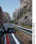 Купить «Греция. Крит. Горная дорога», фото № 311412, снято 24 июня 2006 г. (c) Елена Воронкова / Фотобанк Лори