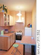 Купить «Интерьер маленькой кухни», фото № 311552, снято 4 июня 2008 г. (c) Astroid / Фотобанк Лори